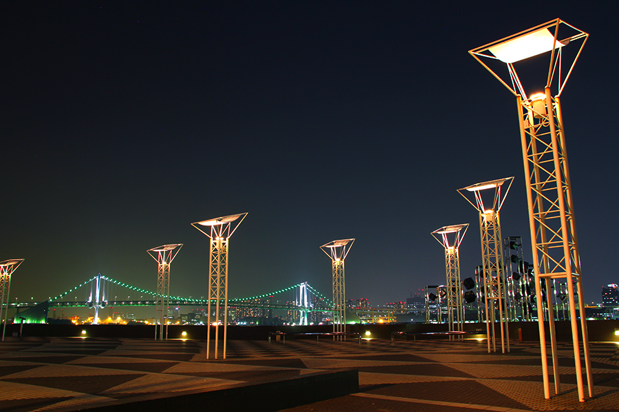 晴海ふ頭ターミナル広場