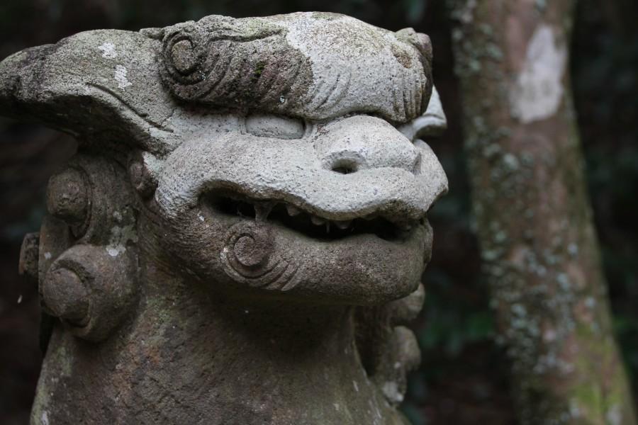 箱根神社こま犬