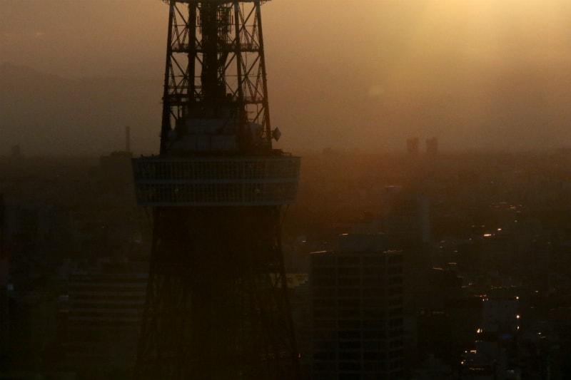 東京タワー夕景