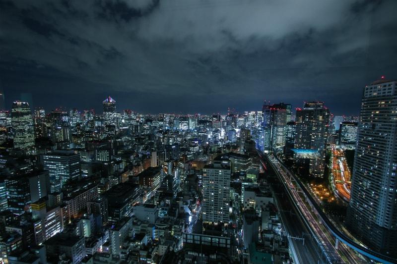 新橋方面夜景