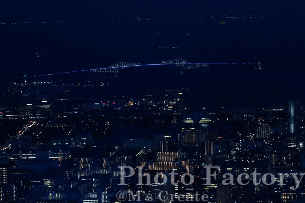 東京ゲートブリッジ方面