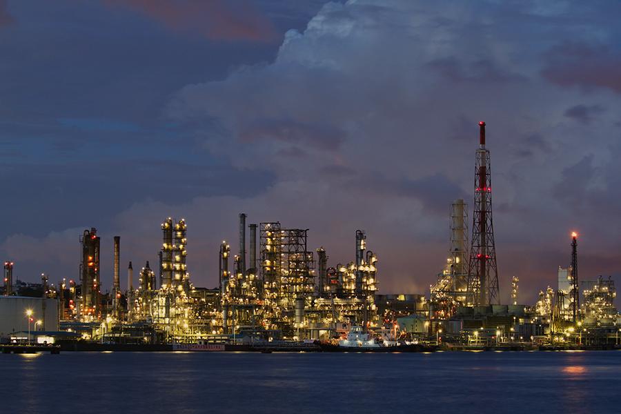 根岸湾臨海工業地帯